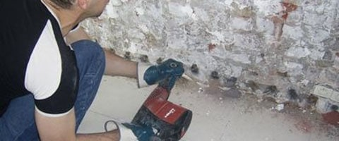Injecter murs vous-même: plan par étapes, tuyaux et matériaux