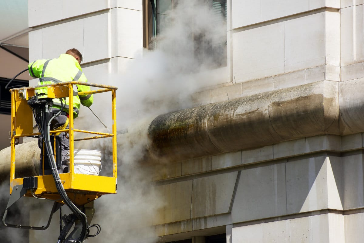 nettoyage façade avant hydrofugation