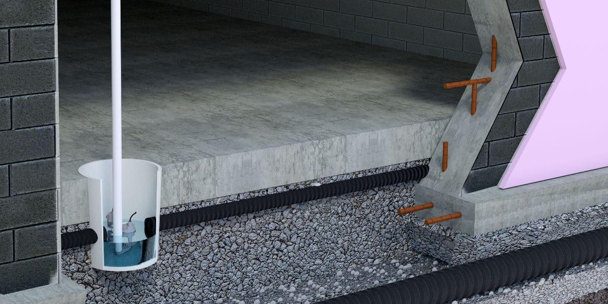 drainaige de cave fa on de travail sortes de drainages et prix. Black Bedroom Furniture Sets. Home Design Ideas