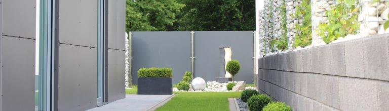 panneaux facade exterieur